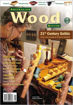 Australian Wood Review Back Issue 60