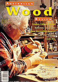 Australian Wood Review Back Issue 25