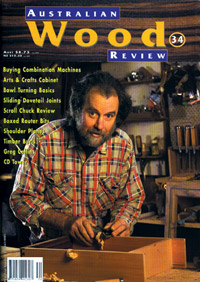 Australian Wood Review Back Issue 34