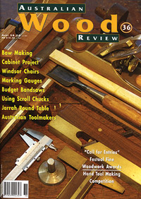 Australian Wood Review Back Issue 36