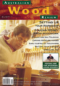 Australian Wood Review Back Issue 37