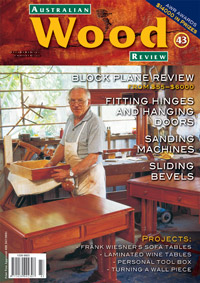 Australian Wood Review Back Issue 43