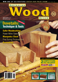 Australian Wood Review Back Issue 46