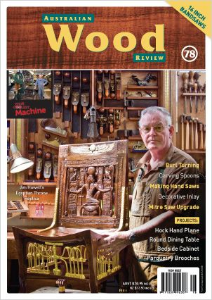 Australian Wood Review Back Issue 78
